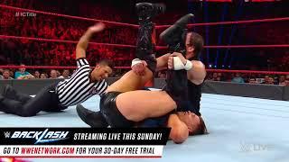Dean Ambrose vs  The Miz   Intercontinental Championship Match  Raw, May 15, 2016