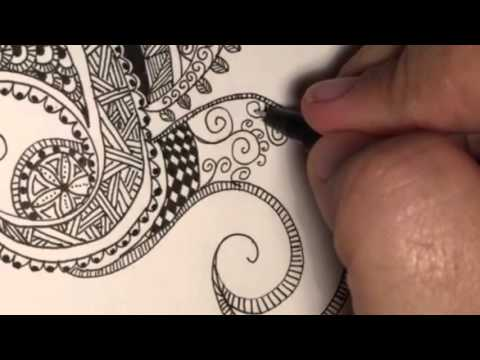A Zentangle with Joanne McFarland
