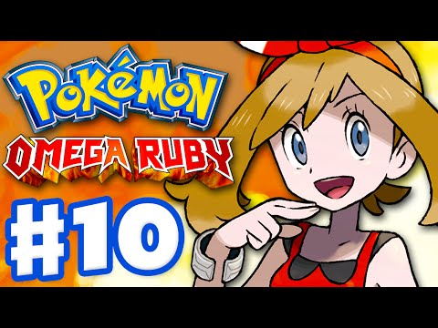 Pokemon Omega Ruby and Alpha Sapphire - Gameplay Walkthrough Part 10 - Trick House and May!