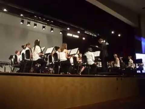 Le Miserables Ensemble Band Performance:  Patuxent Valley Middle School
