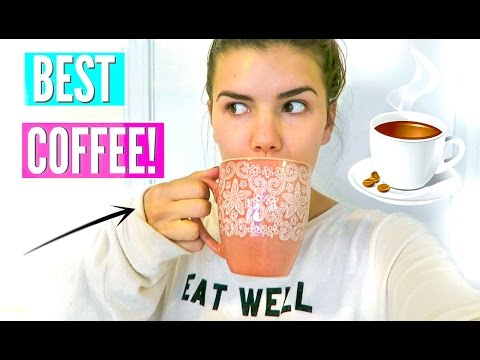 HOW TO MAKE THE BEST COFFEE EVER!!