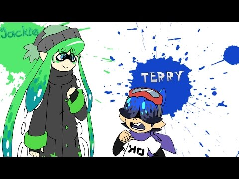 (ComicDub) Splatoon – Terry and Jackie's First Encounter