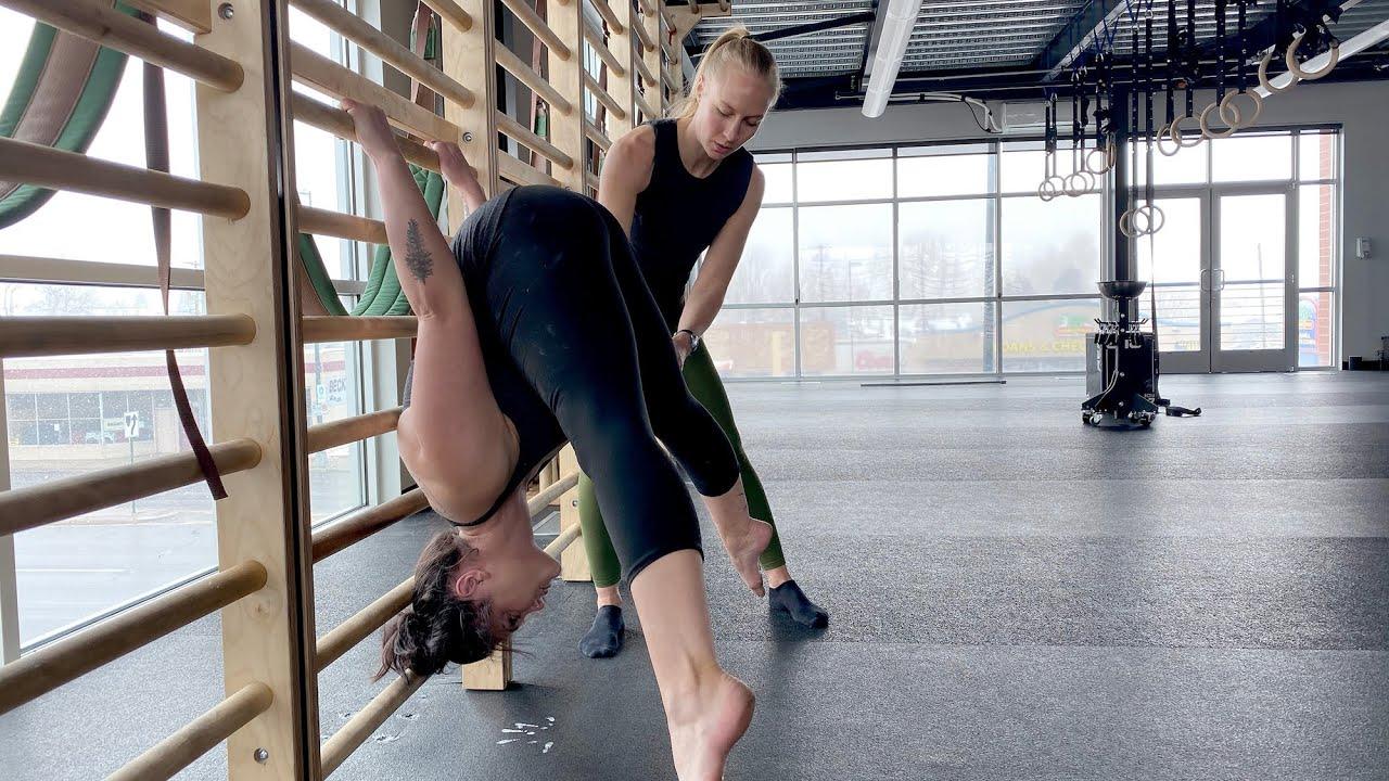 Straddle Press Handstand Drills