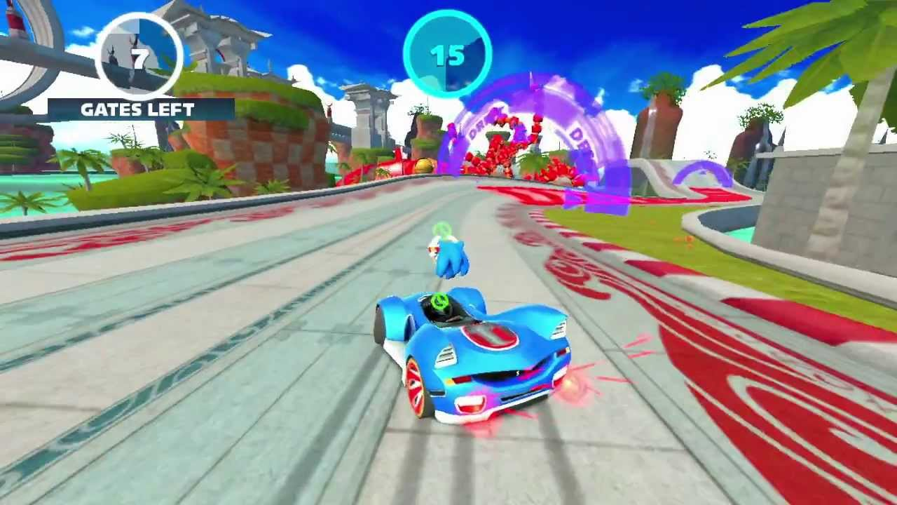 Sonic & All-Stars Racing Transformed™ Android - Launch Trailer (ENGLISH) -  YouTube