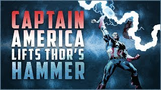 Every Time Captain America Used Thor's Hammer In Comics