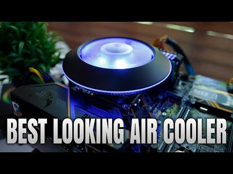 Best Looking Rgb Air Cooler Cooler Master Masterair G100m Review