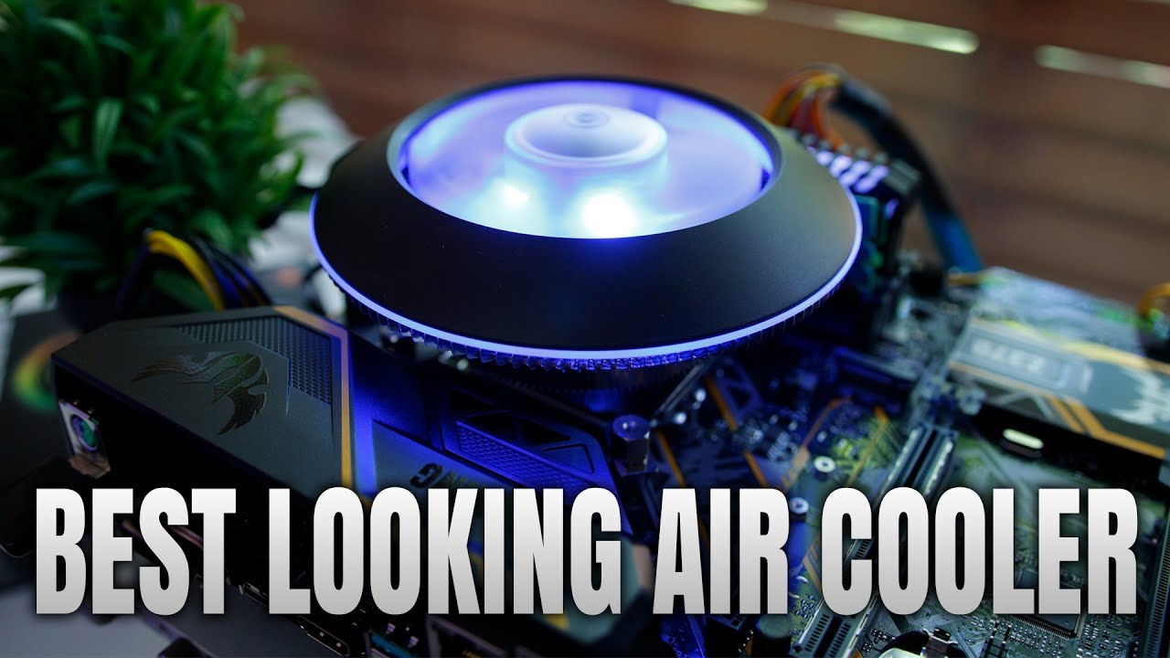 Best Looking RGB Air Cooler - Cooler Master MasterAir G100M Review