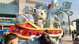 Olympic Parade at PyeongChang Winter Olympics 2018 - unedited