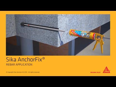 Sika AnchorFix® - REBAR APPLICATION