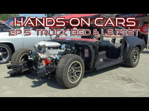 Holley LS FEST on Hands-On Cars 5 + Wooden Bed in '66 Chevy Truck- Web TV Series from Eastwood