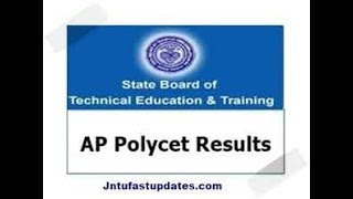 AP POLYCET RESULTS 2018 | Polytechnic Entrance Exam Results
