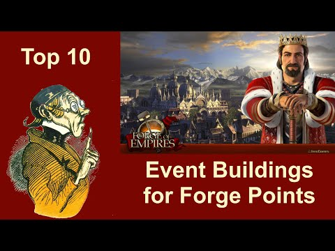FOEhints: Event Buildings For Forge Points In Forge Of Empires