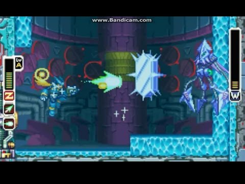 Megaman Zero 4: All Parts & Chips & Ex Skill - Gameplay part 04_P   Cocapetri & T  Kraken (mdX)