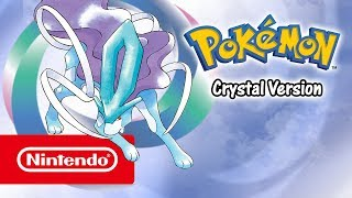 Pokémon Crystal Version - Launch trailer (Nintendo 3DS)