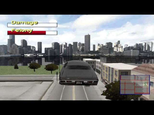 DRIVER 2 - CHEAT CODES (Gamesharks)