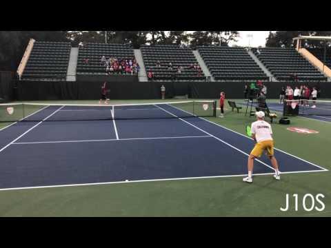 Michael Genender (Stanford) vs Filip Bergevi (Cal)