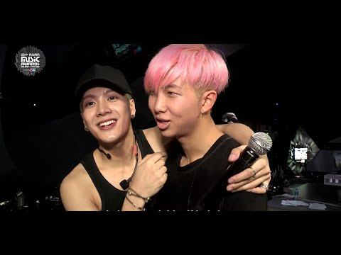 MAMA 2015 Backstage: GOT7 + BTS' Blossoming Bromance