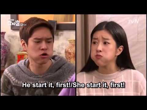 Real life between brother and sister (in korean drama)