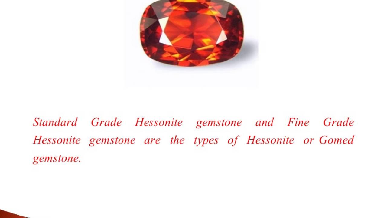 Types Of Hessonite Gemstone - YouTube