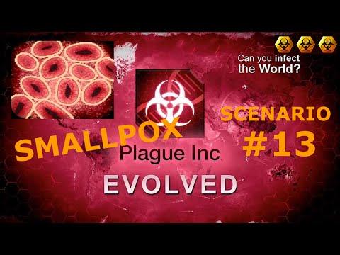 Plague Inc. Evolve - Scenariusze #13 - SMALLPOX ( 3 Biohazards MEGA BRUTAL)
