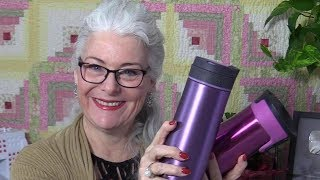 Travel Cups and Quilting