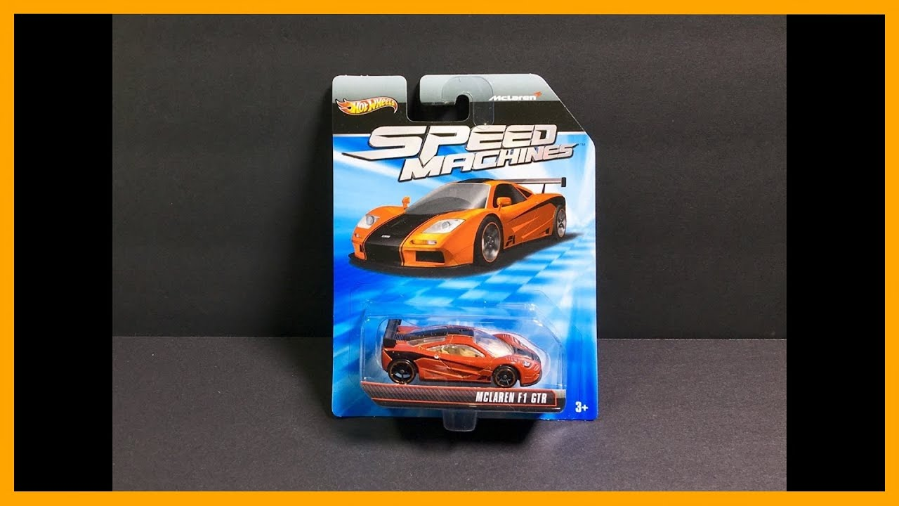 Unboxing Rare Mclaren F1 Gtr Speed Machines Top Speed Test Youtube