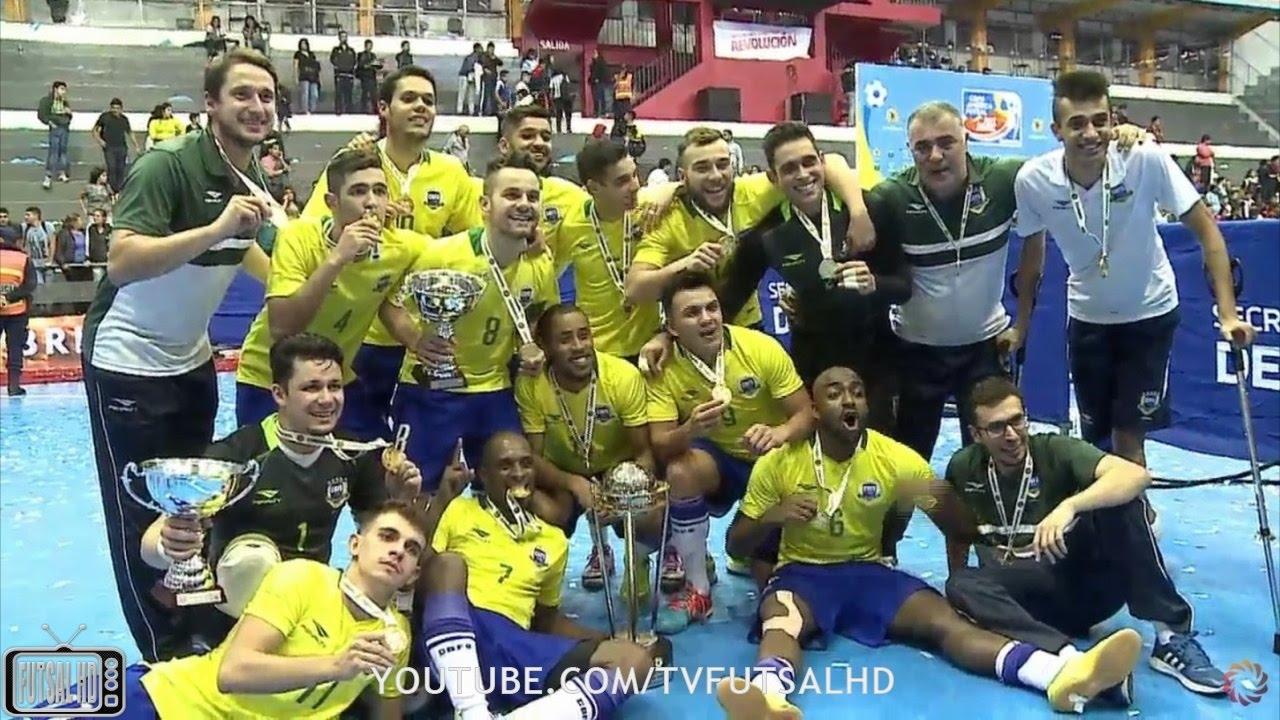5fca68ad94 BRASIL CAMPEÃO - Gols Brasil 4 x 2 Argentina - FINAL Copa América de Futsal  2017 (12 04 2017)