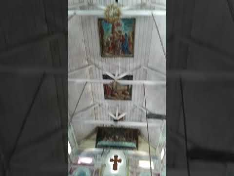 Vintage Paintings on the ceiling of Santa Cruz Cathedral Basilica Church, Fort Kochi