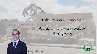 A oração da Igreja prevalece!