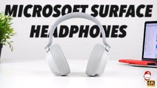 🎧 Sluchátka Microsoft Surface Headphones poprvé v Česku! | WRTECH [4K] (CZ&SK Recenze)