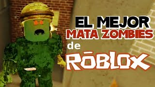 El mejor juego de ZOmbies de ROBLOX! | Call of Duty ' s zombies Mode en ROBLOX | CLAU Y EDU