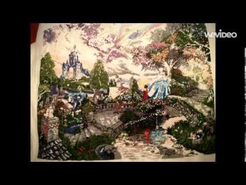 Cinderella Wishes on a Dream: Cross stitch