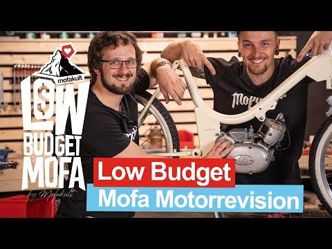 MOTOR ÜBERHOLEN FÜR (FAST) KEIN GELD   Low Budget Mofa