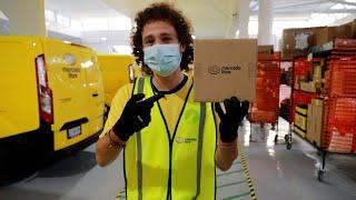 Un día trabajando en Mercado Libre | ¿Cómo llegan tus paquetes en 24 horas? 😱📦