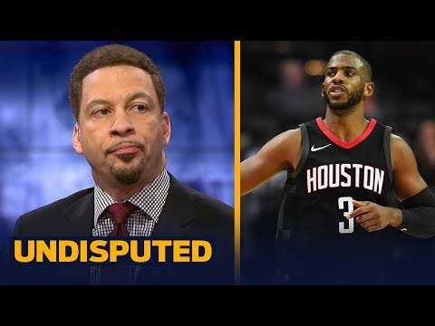 Chris Broussard: The Rockets are the biggest threat in the NBA to the Warriors   UNDISPUTED