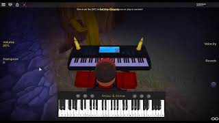 Itsumo Nando Demo - Spirited Away by: Kimura Yumi on a ROBLOX piano.