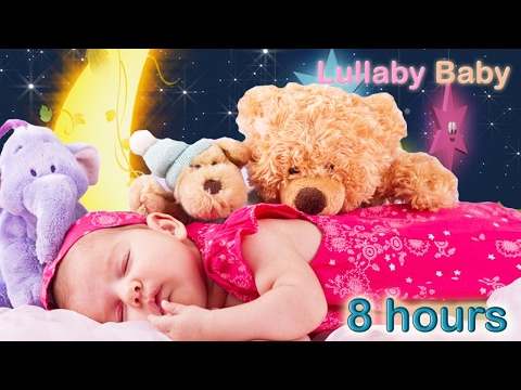 ✰ 8 HOURS ✰ Best Baby Music to Sleep ♫ Lullabies for babies to go to Sleep ♫ Baby Songs to Sleep ✰