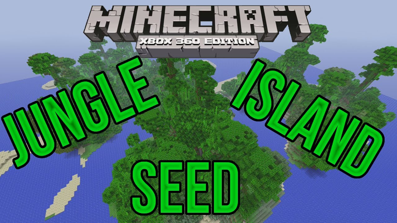 Minecraft Xbox 360 Perfect Jungle Island Survival Seed