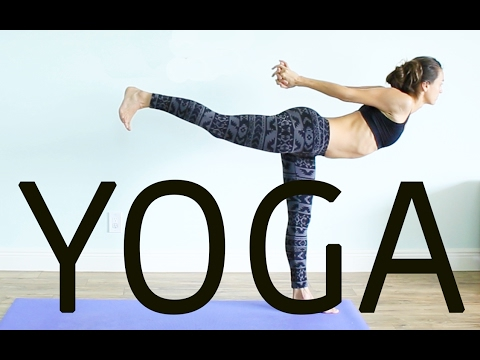 1-HOUR INTERMEDIATE FULL BODY VINYASA YOGA - Lengthen & Strengthen