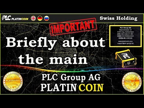 PLC Group AG - Briefly about the main !
