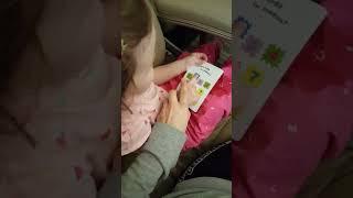 Обучение счёту. Математика для ребенка - Лерке почти 2 года
