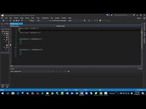 Creating Precompiled Header Files