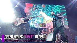 PETER MYLES ''LIVE'' PERÙ 2019 - Peter Myles' Official Videoclip