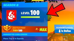 how to rank up fast easy in fortnite season 8 how to level up fast fortnite duration 2 25 - fastest way to level up in fortnite season 8