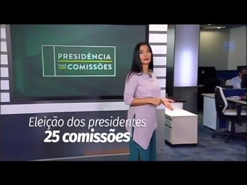 Eleição de presidentes de 25 comissões. Ao vivo, nesta terça (27)