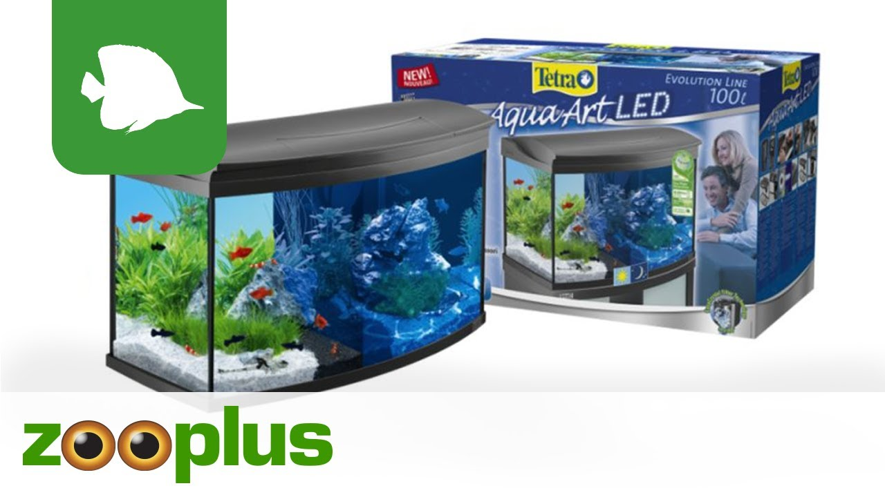 Cool Tetra AquaArt Evolution Line LED Aquarium-Komplett-Set 100L  YY37
