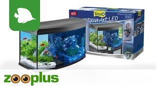 Tetra AquaArt Evolution Line LED Aquarium-Komplett-Set 100L | zooplus