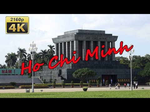 Ho Chi Minh (House, Mausoleum, Museum), Hanoi - Vietnam 4K Travel Channel