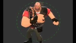 All 9 Class TF2 old High Five Animation