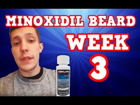 Minoxidil Beard | Week 3 | The Experiment |  #Facialfuzzfridays|